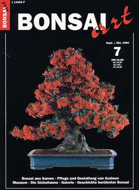 shop literatur dvd zeitschriften bonsai art deutsch 1993 2000 1876 07 bonsai. Black Bedroom Furniture Sets. Home Design Ideas