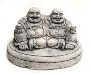 Monks, out of plaster - 9 cm