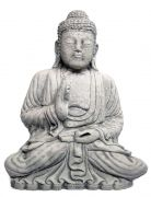 Teaching Buddha out of artificial stone