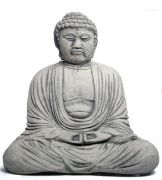Buddha out of artificial stone