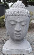 Buddha head out of lava - 40 cm