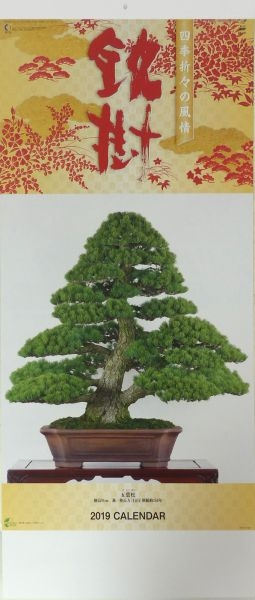 Bonsai - Kalender 2019 (lang) - www.bonsai.de