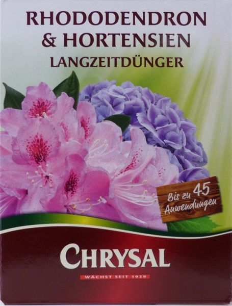Chrysal Slow-release Fertilizer for Rhododendrons and Hydrangeas (900 g) - www.bonsai.de