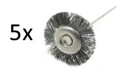Brush Wheel Set (5 pcs.) - www.bonsai.de