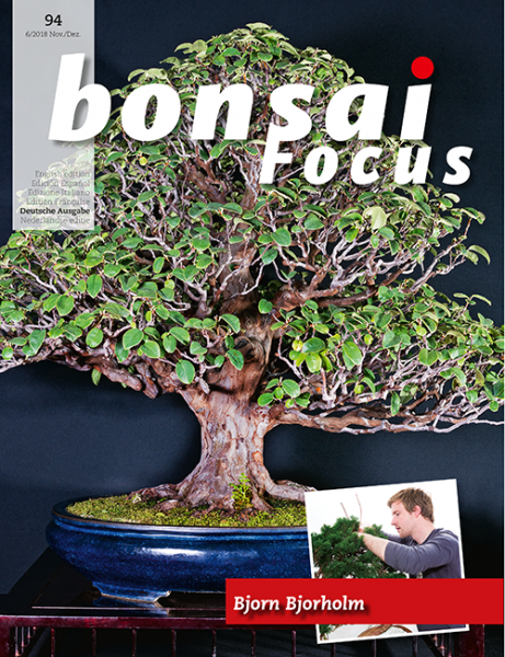 Bonsai-Focus 94 November/Dezember 2018 - www.bonsai.de